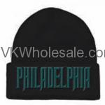 Philadelphia Embroidered Winter Skull Hats Wholesale