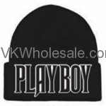 Playboy Embroidered Winter Skull Hats Wholesale