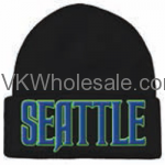 Seattle Embroidered Winter Skull Hats Wholesale