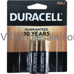 Duracell® CopperTop AA-2 Pack Alkaline Batteries Wholesale