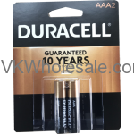 Wholesale Duracell® CopperTop AAA-2 Pack Alkaline Batteries Wholesale