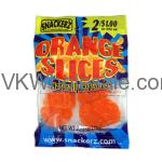 Snackerz Orange Slices 2 for $1 Candy Wholesale