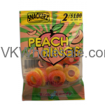 Snackerz Peach Rings 2 for $1 Candy Wholesale