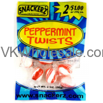 Snackerz Peppermint Twists 2 for $1 Candy Wholesale