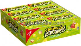 Lemonhead Chewy Fiercely Citrus Candy Wholesale