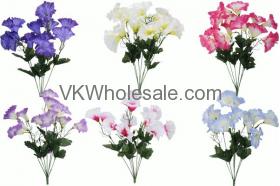 Moring Glory Bush Artificial Flower Wholesale