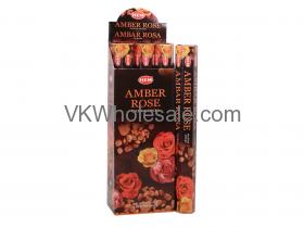 HEM Amber Rose Incense Sticks Wholesale