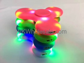 LED Fidget Spinner with Bluetooth Speakers Wholesale