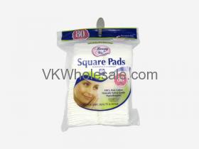 Cotton Square Pads 80CT Wholesale