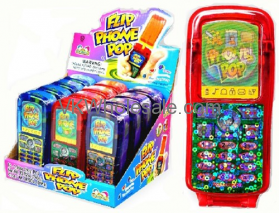 Kidsmania Flip Phone Pop Toy Candy Wholesale