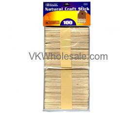 Natural Craft Sticks Wholesale
