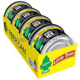 Wholesale Little Tree Airfresheners Fiber Can Black Ice