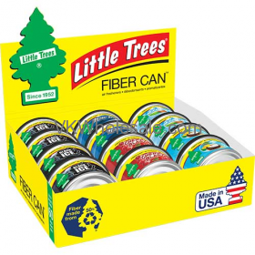 Wholesale Little Tree Air fresheners Fiber Can Display