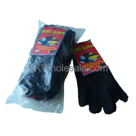 Duro Gloves Brown Jersey 6 Pack