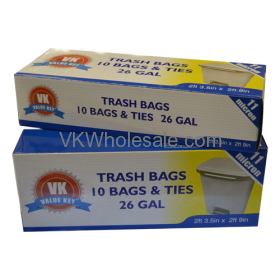 26 GAL Extra Strength Tall Kitchen Bags