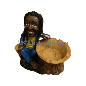 Jamaican Man Ashtrays Wholesale