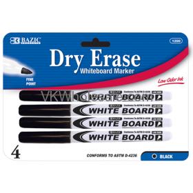 Black Fine Tip Dry-Erase Markers Wholesale