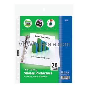 Top Loading Sheet Protectors Wholesale