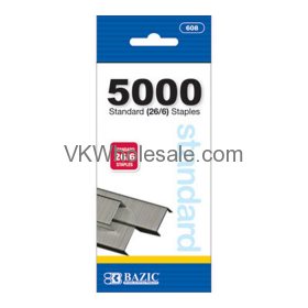 5000 ct. Standard (26/6) Staples Wholesale