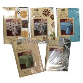 "Tablecloth Oblong 52"" x 108"" Wholesale"