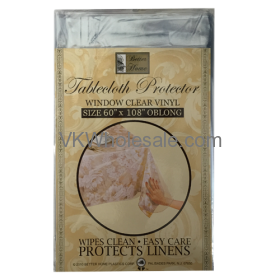 "Tablecloth Protector Oblong 60"" x 108"" Wholesale"