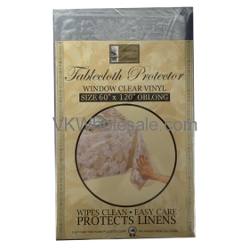 "Tablecloth Protector Oblong 60"" x 120"" Wholesale"