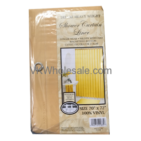 Shower Curtain Liner Beige Wholesale