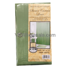 Shower Curtain Liner Peridot Wholesale