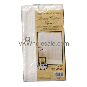 Shower Curtain Liner White Wholesale
