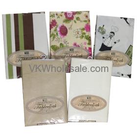 "Tablecloth Oblong 52"" x 90"" Wholesale"