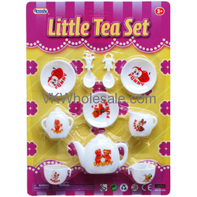10PC LITTLE TEA SET IN BLISTER CARD Wholesale
