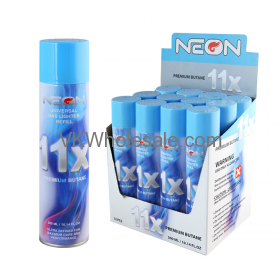 Wholesale 11X-Neon Universal Gas Lighter Refill