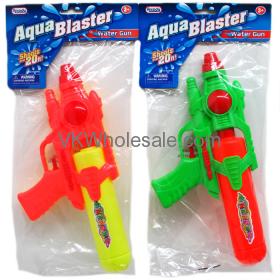 "11"" WATER GUN IN POLY BAG W/ HEADER 3 ASSRT COLORS Wholesale"