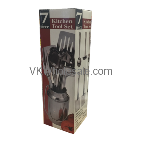 7PC Stainless Steel Kitchen Tool Set Wholesale
