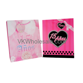 Quince Anos Gift Bags Large Wholesale