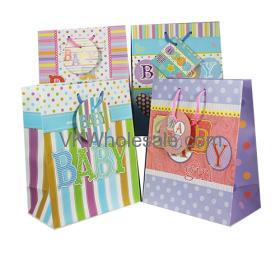Gift Bags Baby Matt Jumbo Wholesale