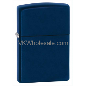 Zippo Windproof Navy Blue Matte Lighter 239 Wholesale