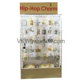Hip Hop Necklace Set Display Wholesale