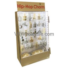 Hip Hop Earring + Necklace Set LED Display