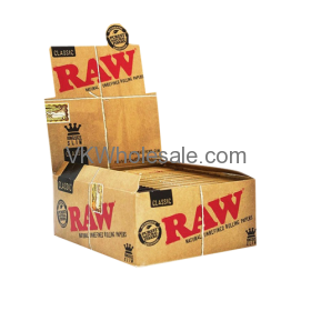 RAW Classic King size Slim Booklet Display Wholesale