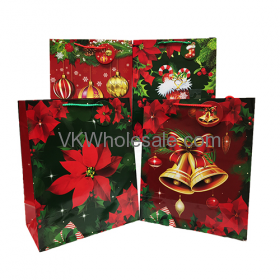 Christmas Gift Bags Gloss Large Wholesale