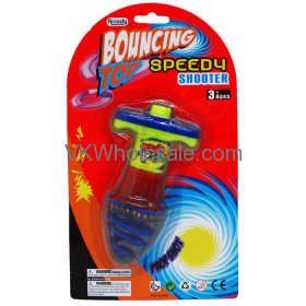 Light-Up Bouncing Spinning Top Shooter Toy Wholesale