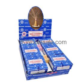 Satya Sai Baba Nagchampa Dhoop Cones Wholesale