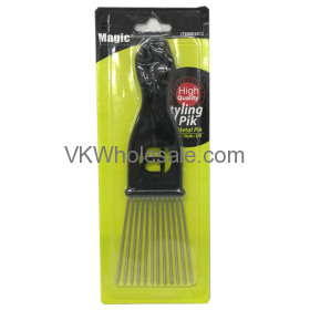 Fan Metal Hair Pik Wholesale