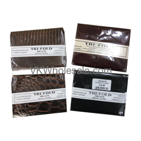 Tri-Fold Leather Wallet Wholesale