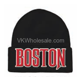 Boston Embroidered Winter Skull Hats Wholesale