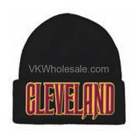 Cleveland Embroidered Winter Skull Hats Wholesale