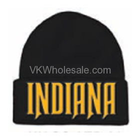 11dc3ba78a0 Indiana Embroidered Winter Skull Hats Wholesale