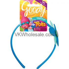 Goody Trolls Poppy Flower Headband Wholesale