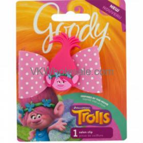 Goody Trolls Value Channel Bow Salon Clip Wholesale